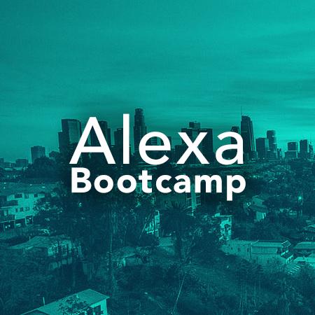 Alexa Bootcamp 2018